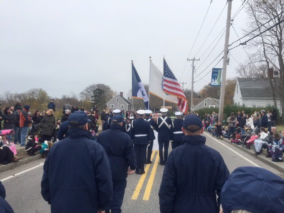 Memorial Day Parade: Auxiliary Color Guard
