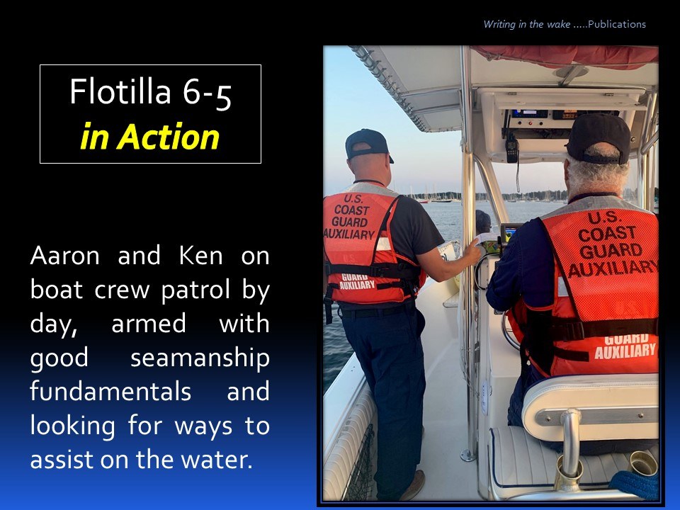 Boat Crew in Action July 2019