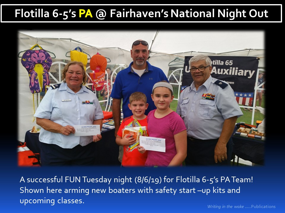 PA @ Fairhaven National Night Out